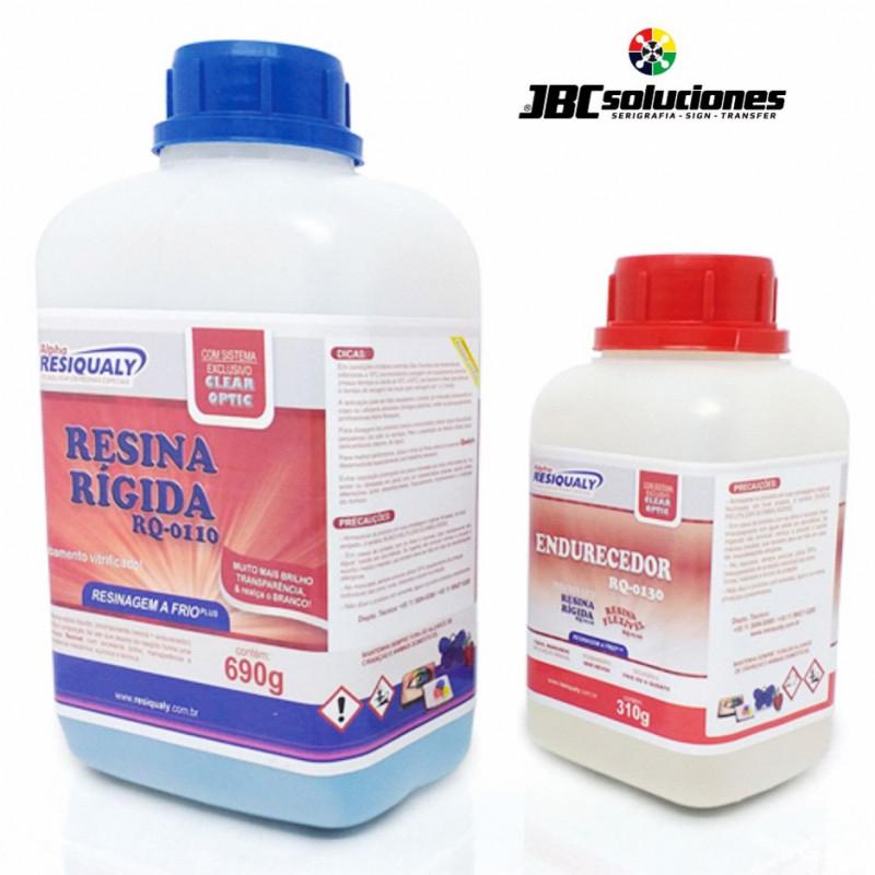 RESINA RÍGIDA RQ-0110 CON 1KG